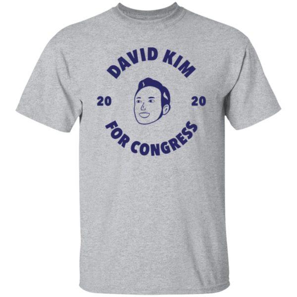 David kim For Congress Shirt