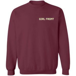 02 KHJLOOKING Oec Girl Front Crewneck Sweatshirt